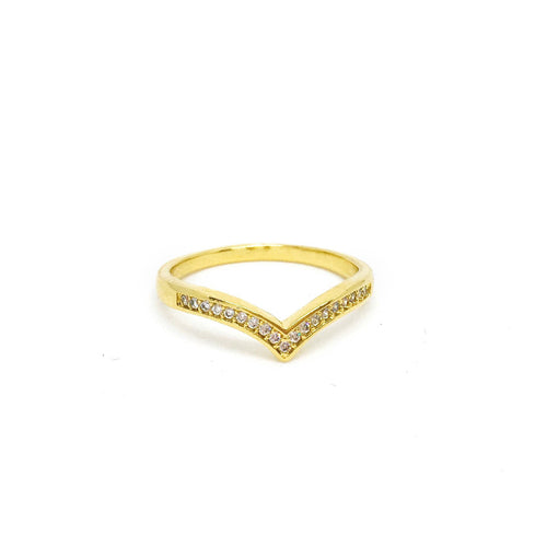 Chevron Stackable Ring - Donna Italiana ®