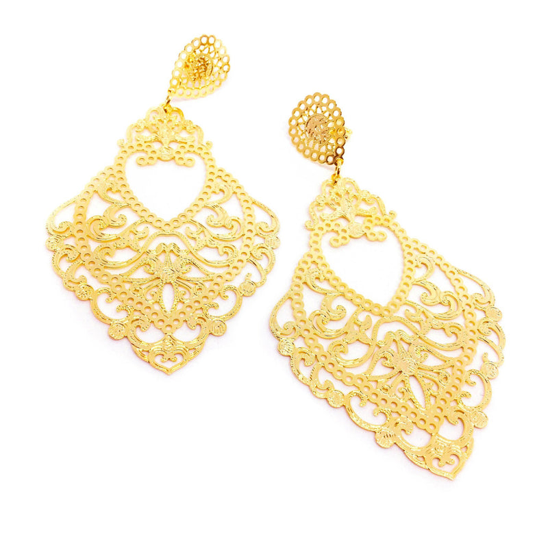 French Drop Earrings - Donna Italiana ®