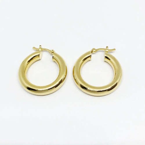 18k GL Valentina Mini Hoops