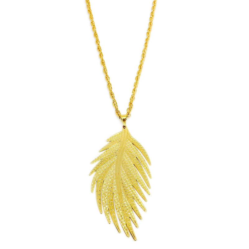 Leaf Necklace - Donna Italiana ®