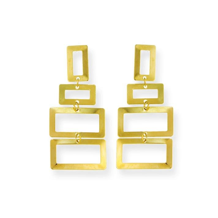 Liz Drop Earrings - Donna Italiana ®