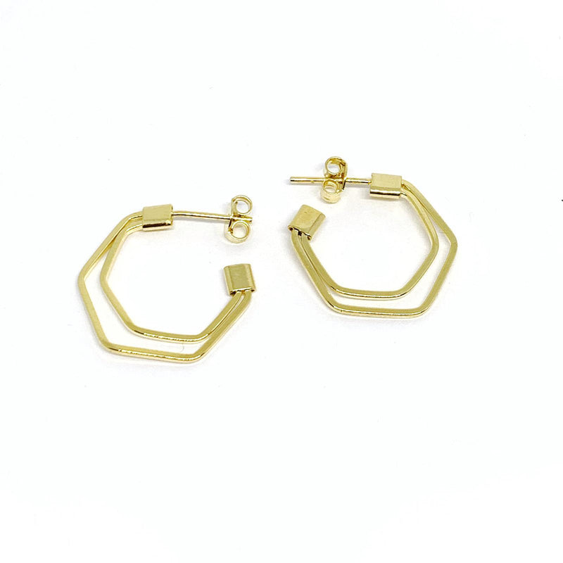 Shaped Hoop Earrings - Donna Italiana ®