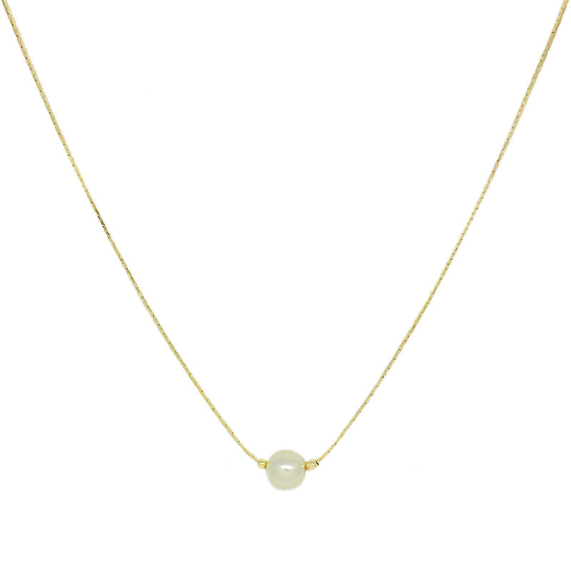 Single Pearl necklace - Donna Italiana ®