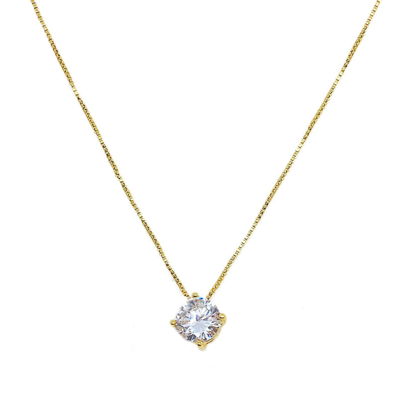 Solitaire Necklace - Donna Italiana ®
