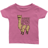 Alpaca My Bags Infant T-Shirt Bright Pink