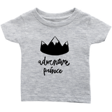 Adventure Prince Infant T-Shirt Gray Heather