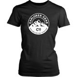 Women's White Explorer Gear Co. T-Shirt - Explorer Gear Co. - Adventure Clothing and Apparel