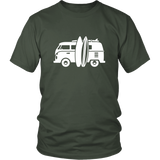 Camper Van T-Shirt Hunter Green