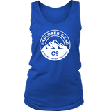Women's White Explorer Gear Co. Tank - Explorer Gear Co. - Adventure Clothing and Apparel