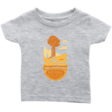 Yellowstone National Park Infant T-Shirt Heather Gray