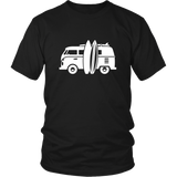 Camper Van T-Shirt Black