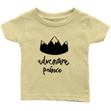 Adventure Prince Infant T-Shirt Yellow