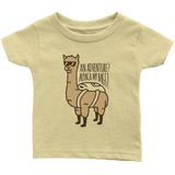 Alpaca My Bags Infant T-Shirt Tan