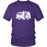 Camper Van T-Shirt Purple
