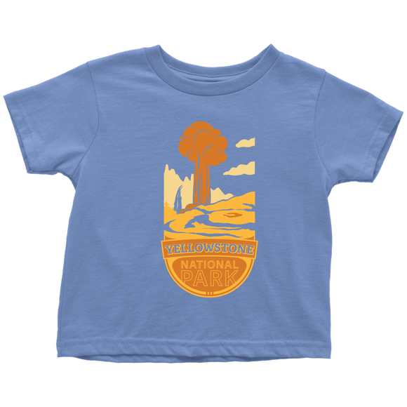 Yellowstone National Park Toddler T-Shirt