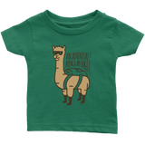 Alpaca My Bags Infant T-Shirt Green