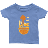 Yellowstone National Park Infant T-Shirt Blue