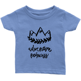 Adventure Princess Infant T-Shirt Blue