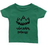Adventure Princess Infant T-Shirt Green
