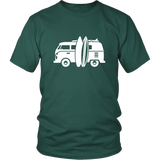 Camper Van T-Shirt Green