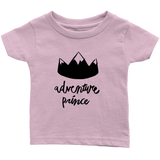 Adventure Prince Infant T-Shirt Light Pink