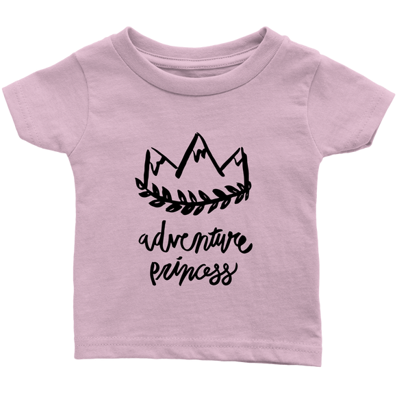 Adventure Princess Infant T-Shirt Pink