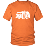 Camper Van T-Shirt Orange