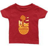Yellowstone National Park Infant T-Shirt Red