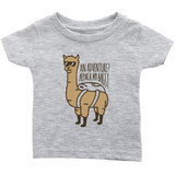 Alpaca My Bags Infant T-Shirt Heather