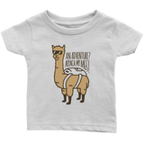 Alpaca My Bags Infant T-Shirt White
