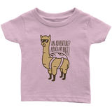 Alpaca My Bags Infant T-Shirt Pink