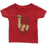 Alpaca My Bags Infant T-Shirt Red
