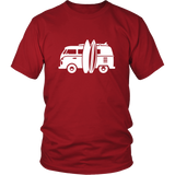 Camper Van T-Shirt Red