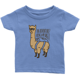 Alpaca My Bags Infant T-Shirt Blue