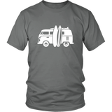 Camper Van T-Shirt Light Gray