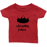 Adventure Prince Infant T-Shirt Red