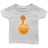 Yellowstone National Park Infant T-Shirt White