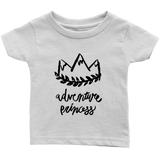 Adventure Princess Infant T-Shirt White