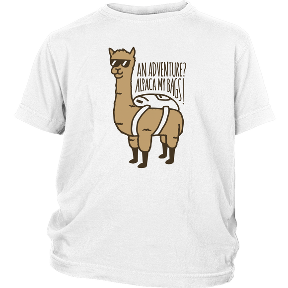 Alpaca My Bags Youth T-Shirt