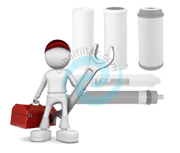 Dubai Filter Full Water Filter Replacement Service With