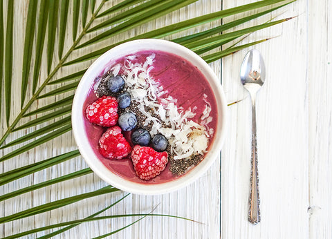 simple oatmeal smoothie bowl recipe