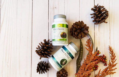 Elderberry and Heart Health Supplements - Free with Black Friday Purchase