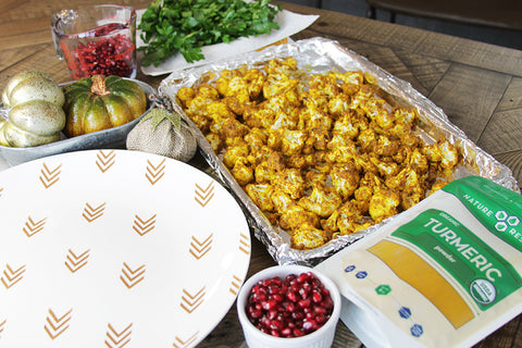 Nature Restore turmeric powder recipe for the holidays