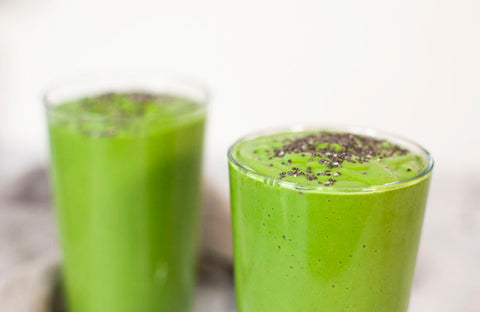 Gut Healing and Cleansing Celery Juice Smoothie