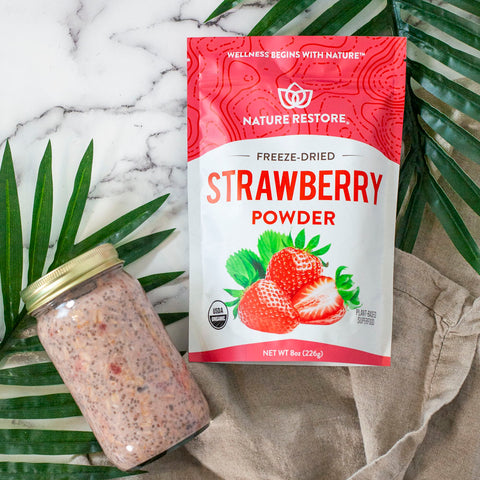 Nature Restore Strawberry Powder Recipe