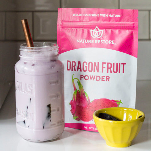 Nature Restore Dragon Fruit Pink Pitaya Powder