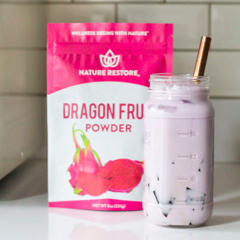 Nature Restore Dragon Fruit Powder Drink Recipe
