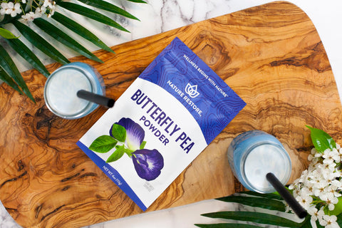 Nature Restore Butterfly Pea Powder natural food coloring