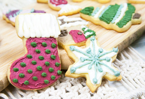 Decorated christmas cookie inspiration