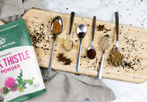 Homemade Chai Tea Spice Mix with Milk Thistle